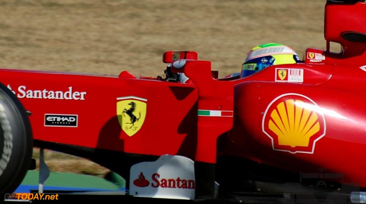 Valencia dag 2: Massa zet Ferrari F10 opnieuw bovenaan