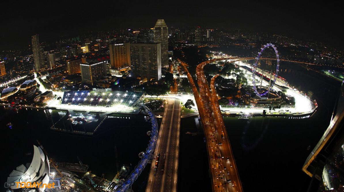 FIA handhaaft DRS-zone na bocht 5 voor Singapore 2012