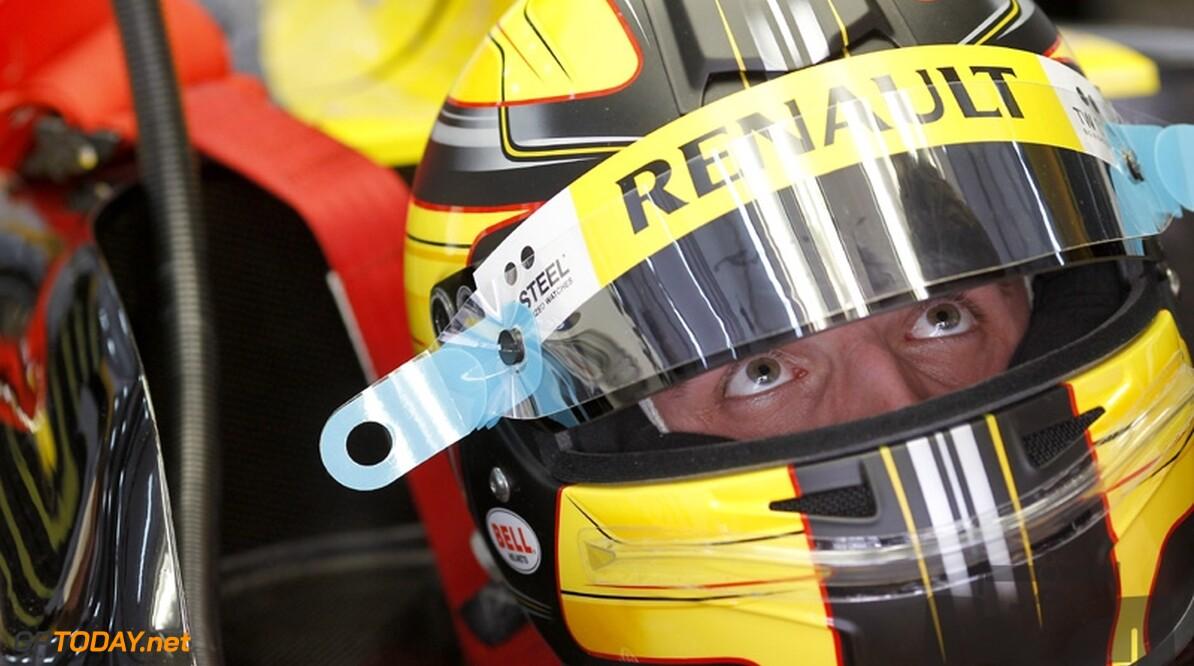VT1: Robert Kubica als enige onder de 1:27
