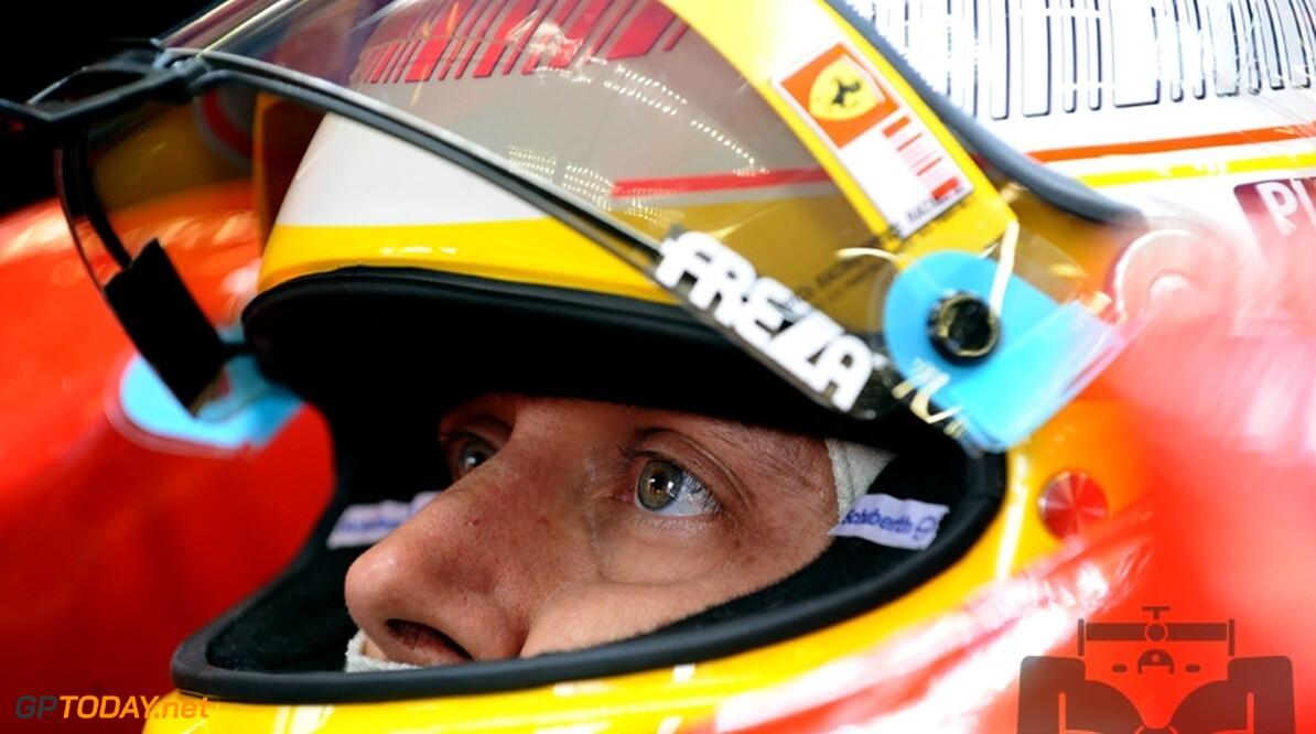 Ferrari neemt afscheid van testrijder Luca Badoer