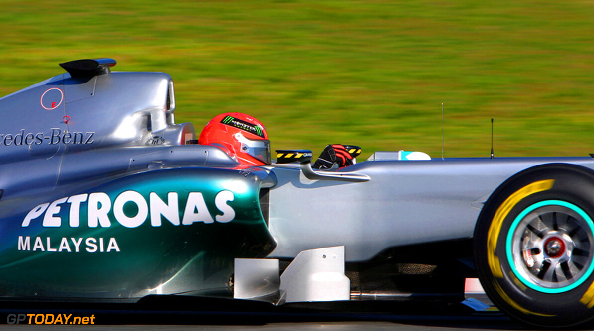 Michael Schumacher gelooft in winstkansen voor 2011