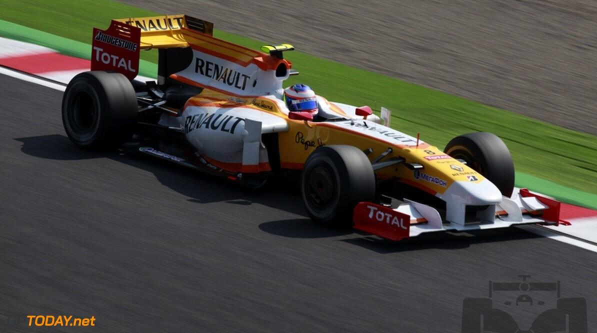 Grosjean niet zeker van plek bij Renault, Heidfeld mogelijke vervanger