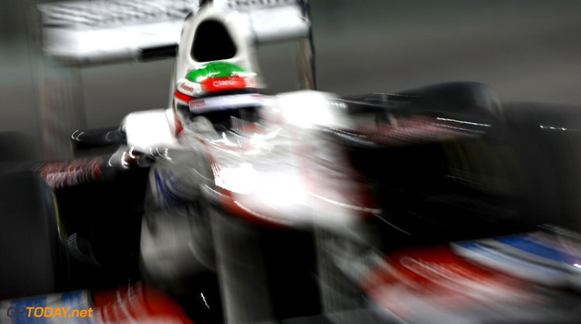 Sergio Perez is teammaat Kobayashi wederom de baas