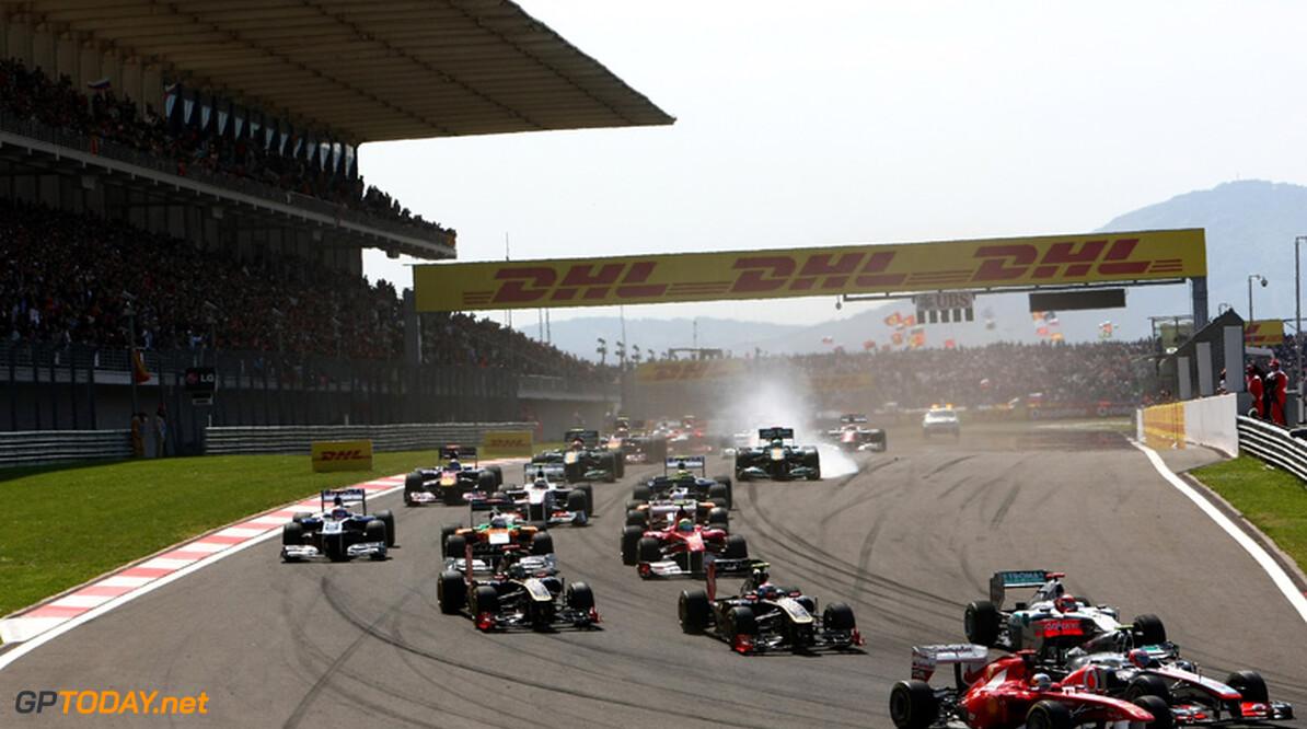 Turkije verliest Grand Prix op nieuwe kalender voor 2012