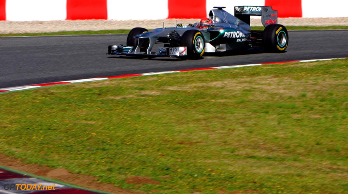 """Haug: """"Mercedes GP niet goed genoeg voor top tien"""""""