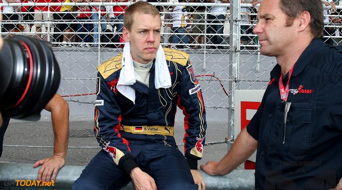 """Vettel: """"Ik ben niet de nieuwe Michael Schumacher"""""""