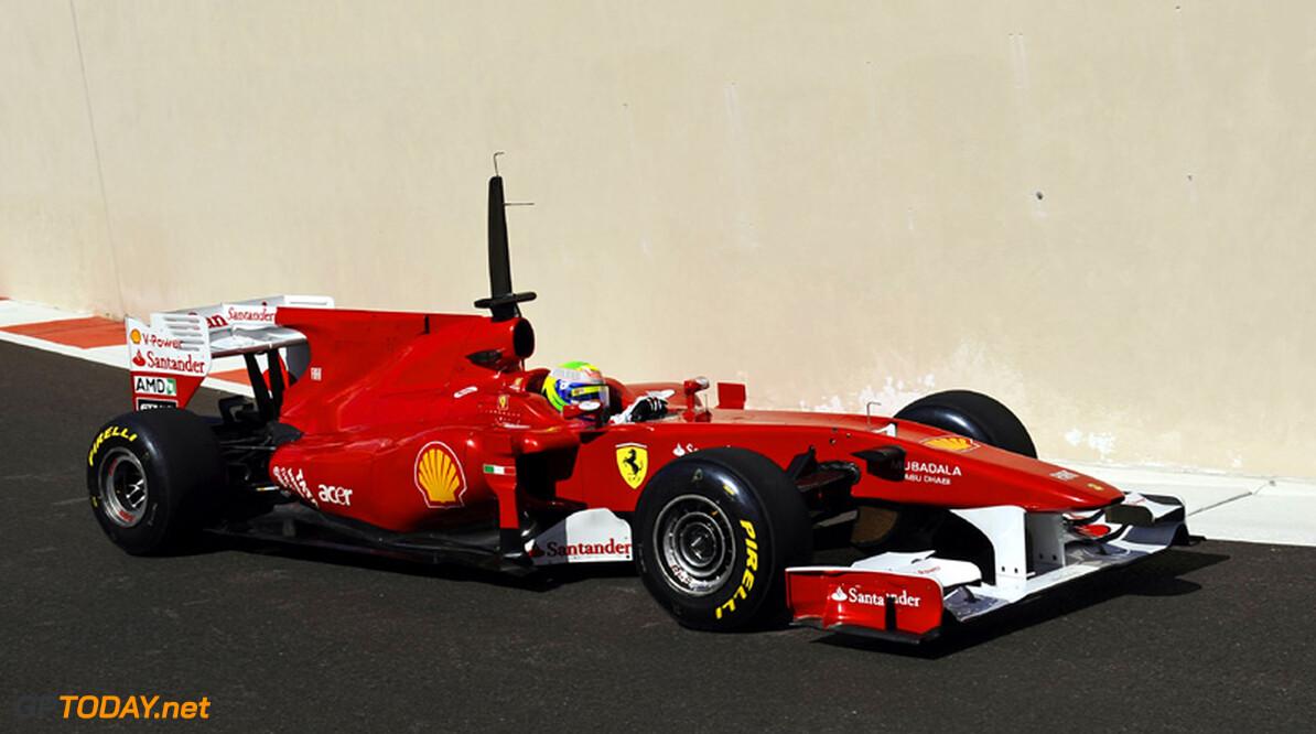 Abu Dhabi dag 1: Italiaanse alliantie Ferrari en Pirelli met Massa op P1