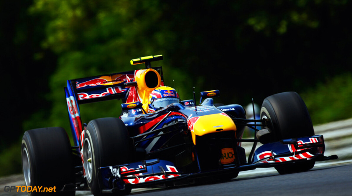 Webber vraagt Red Bull Racing niet om voorkeursbehandeling