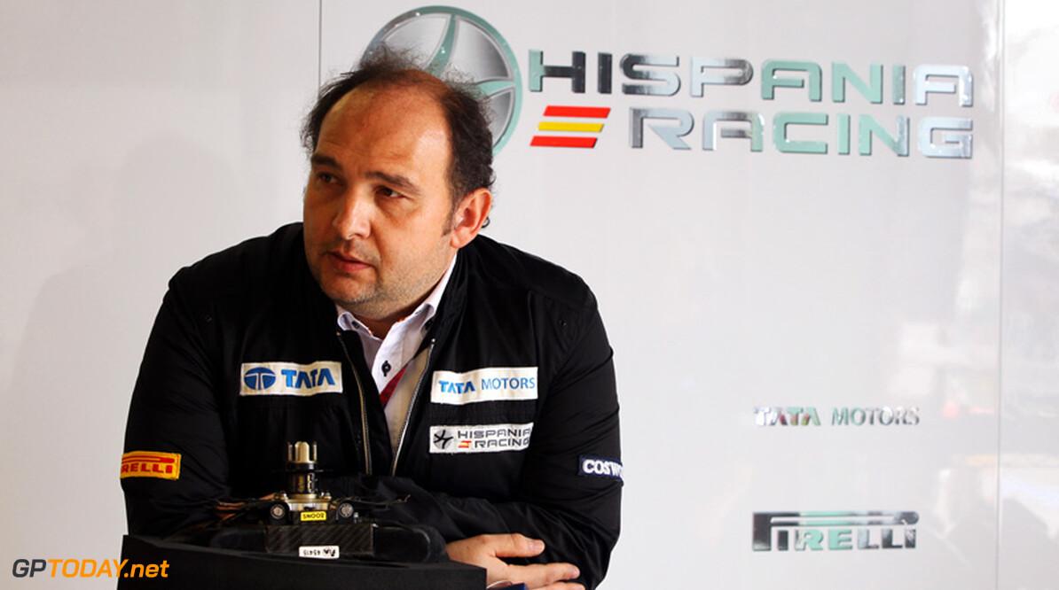 Hispania Racing spreekt van een wonder en belooft beterschap