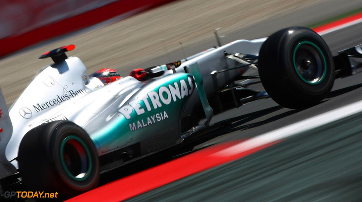 Mercedes GP ontwikkelt vooral met het oog op 2012