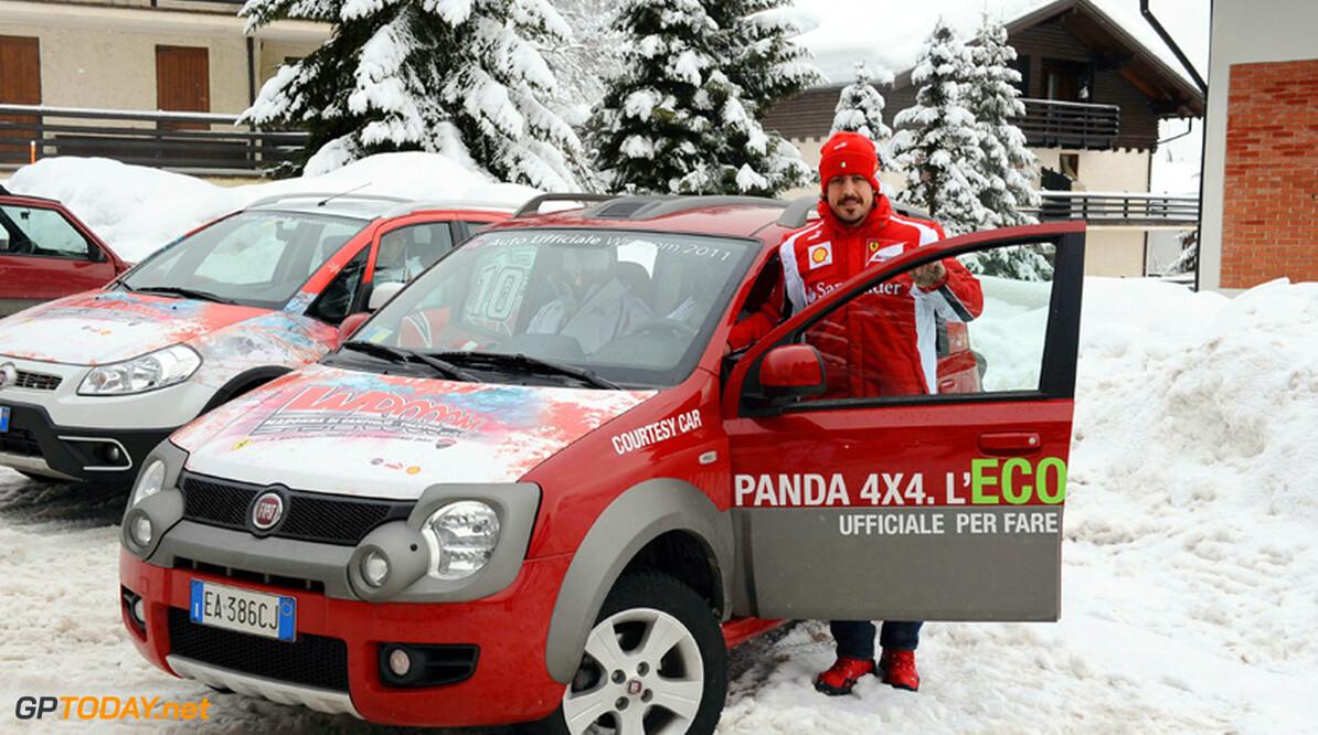 Alonso beschouwt Schumacher als gevaarlijkste concurrent