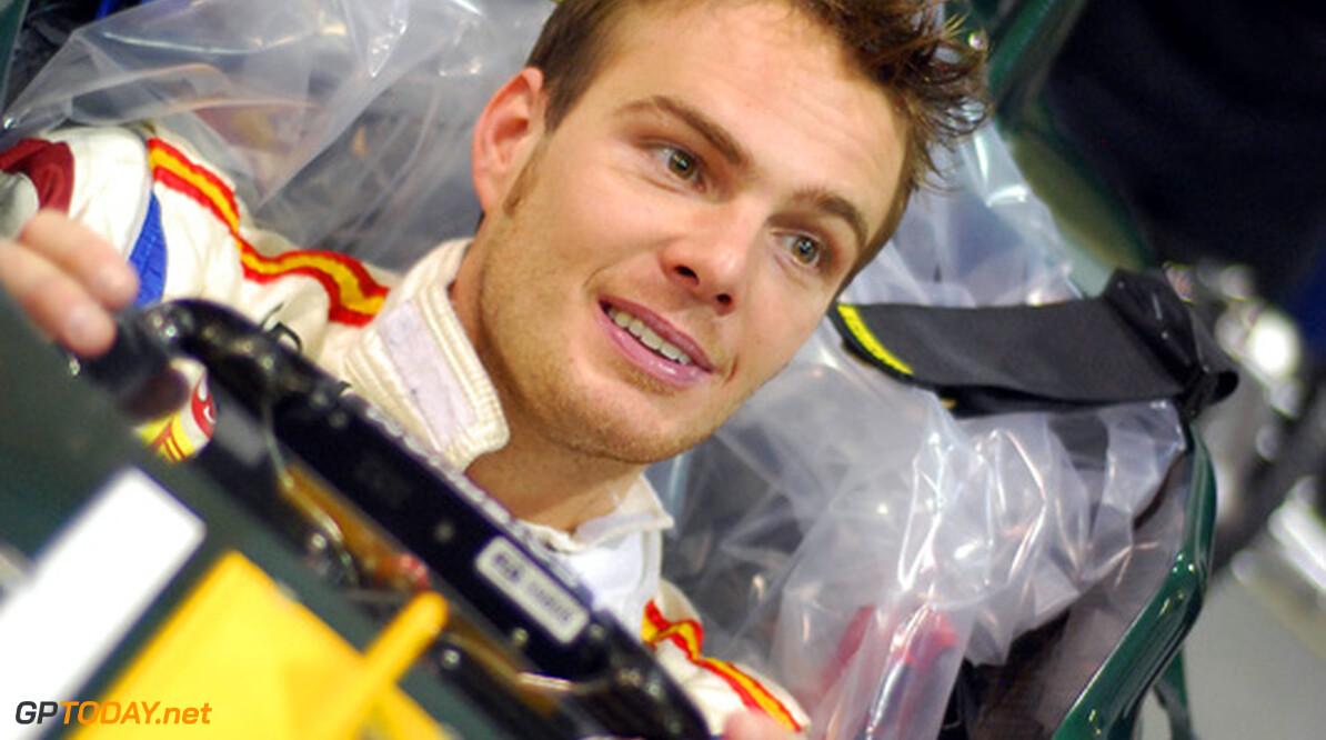 Giedo van der Garde tekent contract als derde coureur bij Caterham