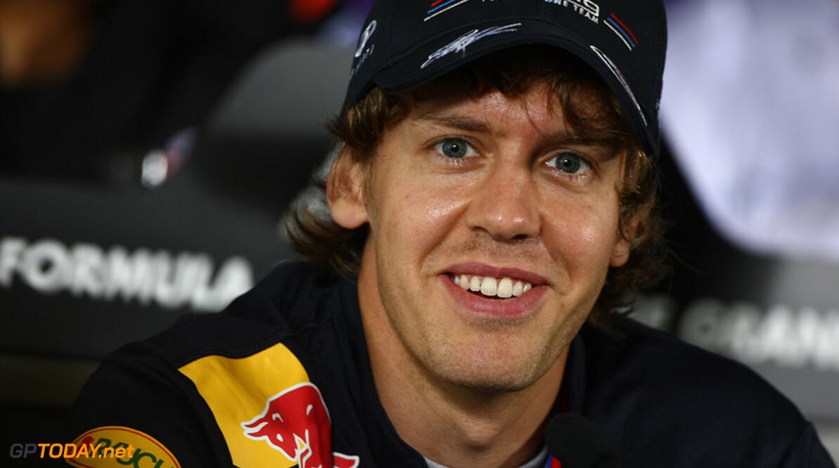 Sebastian Vettel ook in kwalificatie Sjanghai oppermachtig