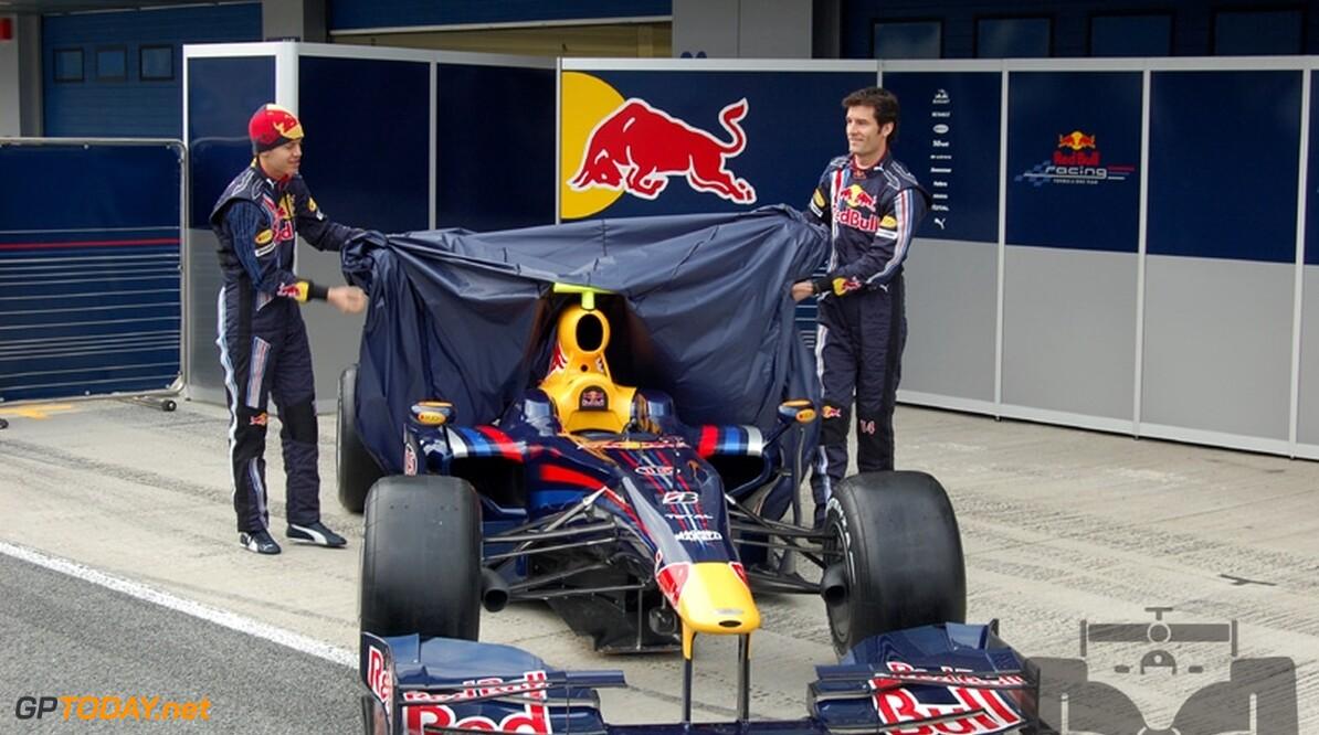 Ook Red Bull Racing presenteert op eerste testdag in Valencia