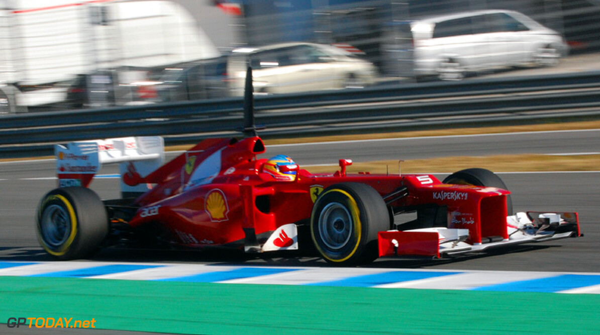Jerez dag 5: Alonso en Ferrari geven teken van leven