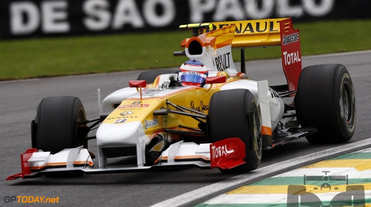 Romain Grosjean houdt hoop op Renault-stoeltje