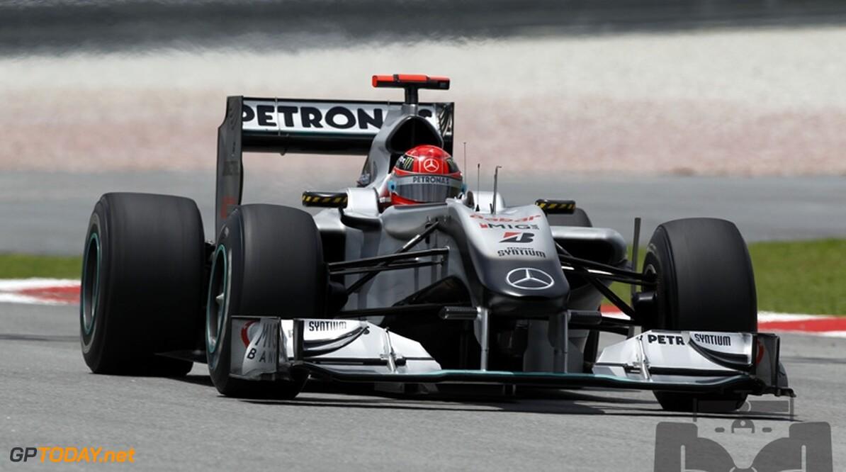 Brawn bevestigt vervanging chassis van Schumacher