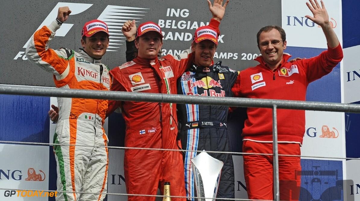 Kimi Raikkonen wint Grand Prix van België