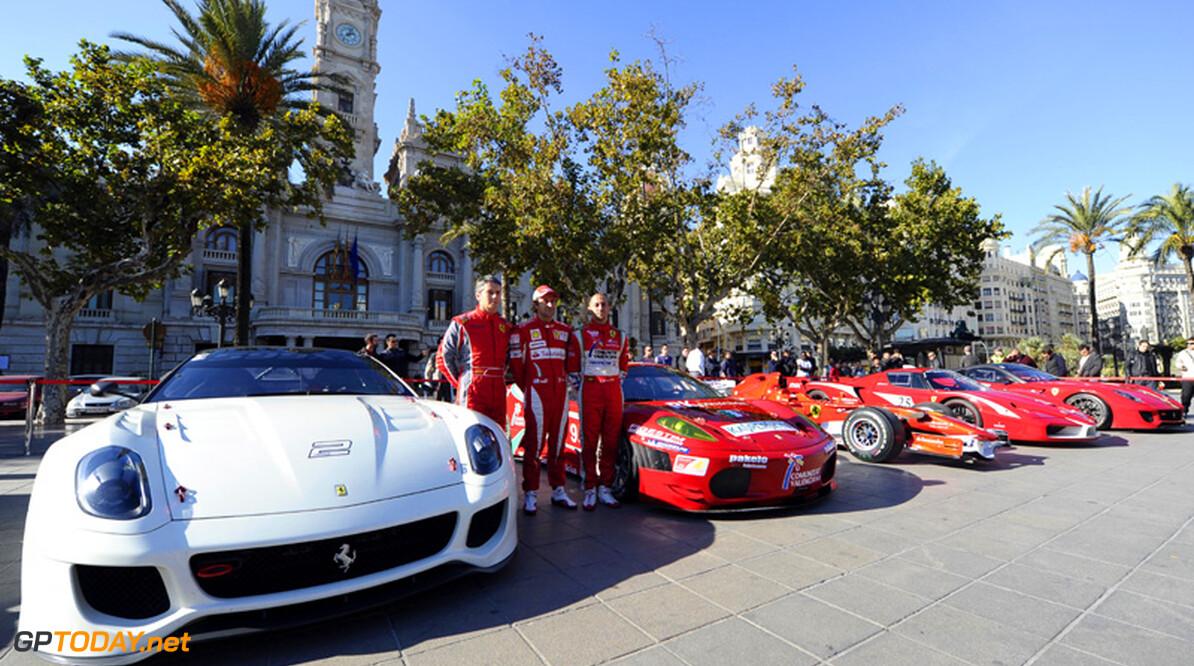 Ferrari Munsterhuis brengt vijf Ferrari's naar Bavaria City Racing