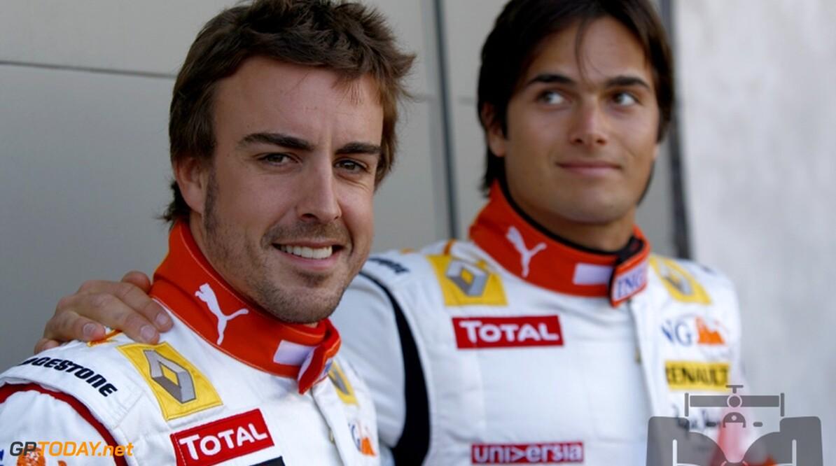 """Alonso: """"Piquet is een goede coureur met toekomst in Formule 1"""""""