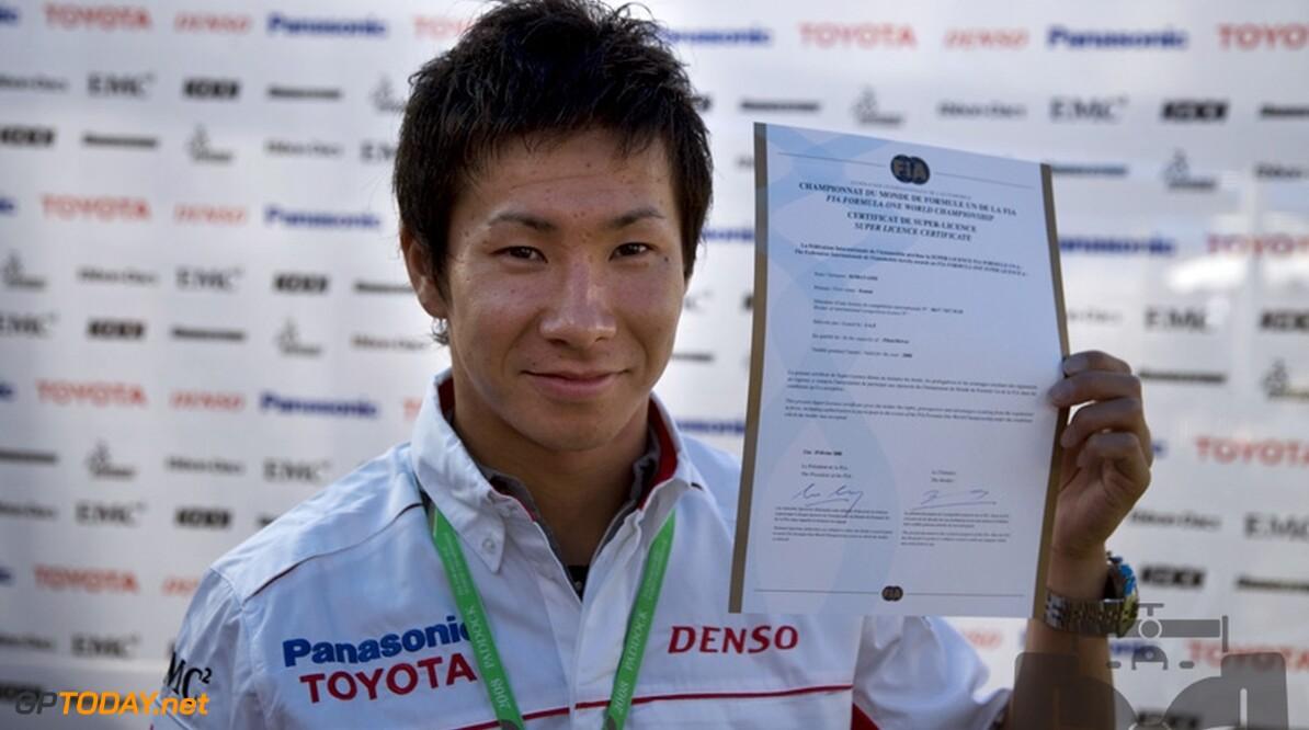 Kobayashi voert weer test aan, Van der Garde zesde