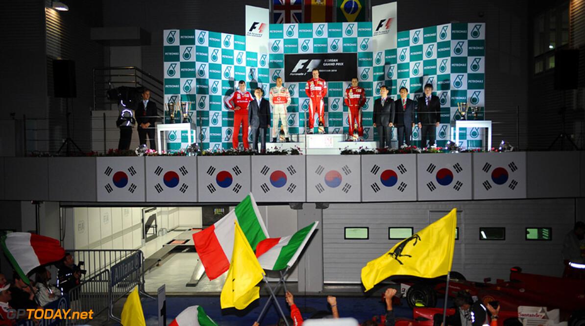 Martin Donnelly als oud-coureur in wedstrijdleiding in Zuid-Korea