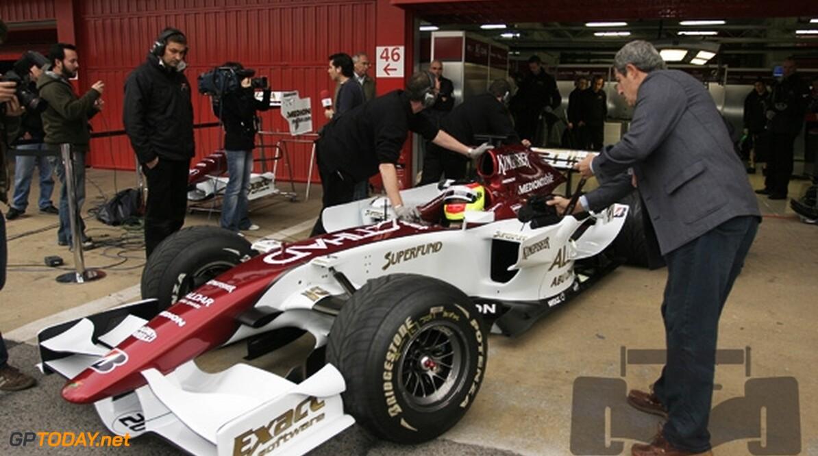 Force India houdt vast aan F8-VII