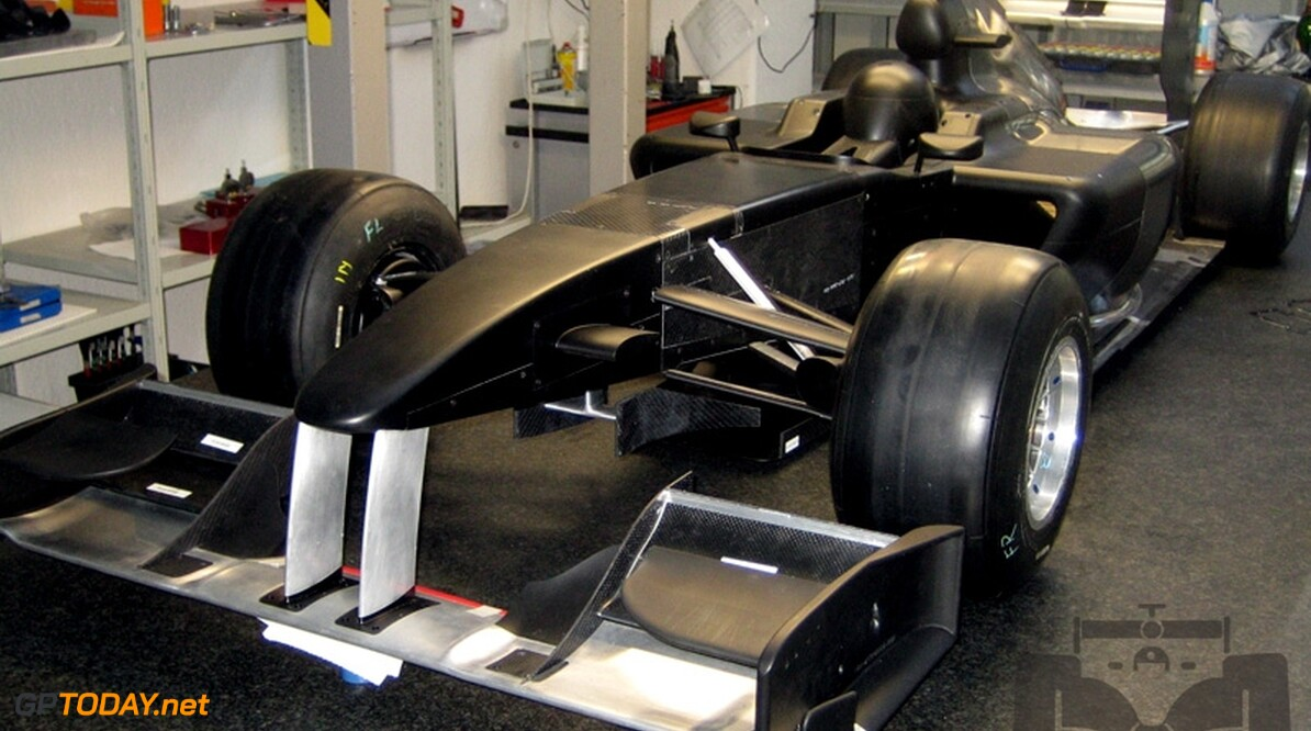 Lotus F1 Racing begonnen aan interne crashtests