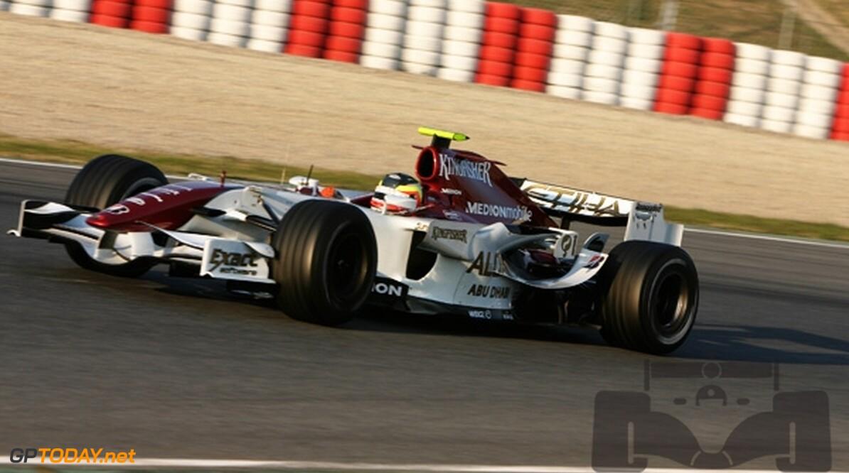 Volgende Formule 1-test van Van der Garde in december
