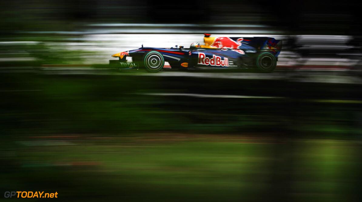 Vettel moest inhouden vanwege een versnellingsbakprobleem