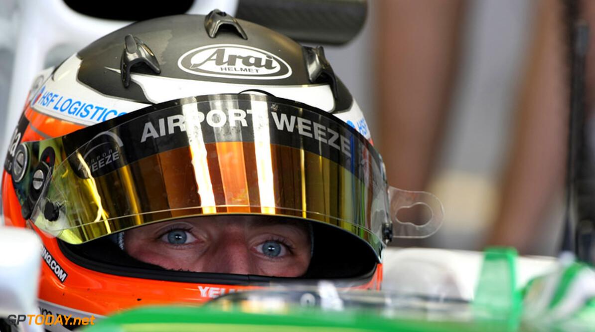 Exclusieve foto's: Yelmer Buurman test voor Force India