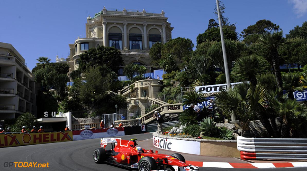 VT2: Alonso niet te kloppen op eerste dag in Monaco
