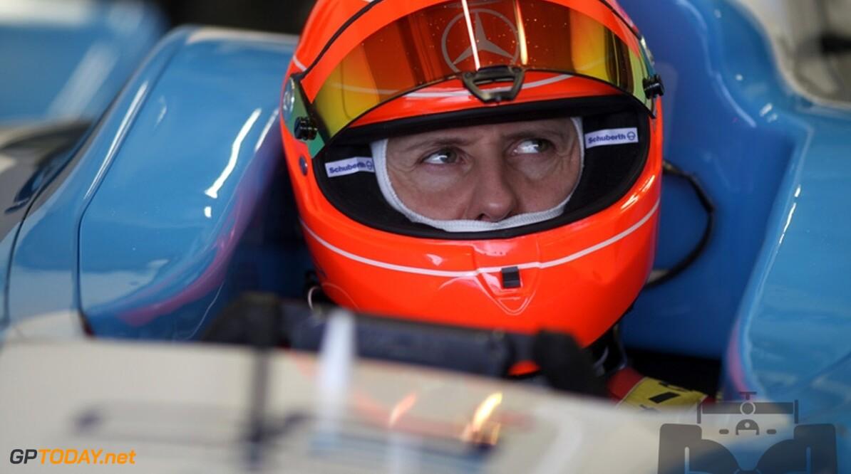 Schumacher vraagt om startnummer 3 van teamgenoot Rosberg