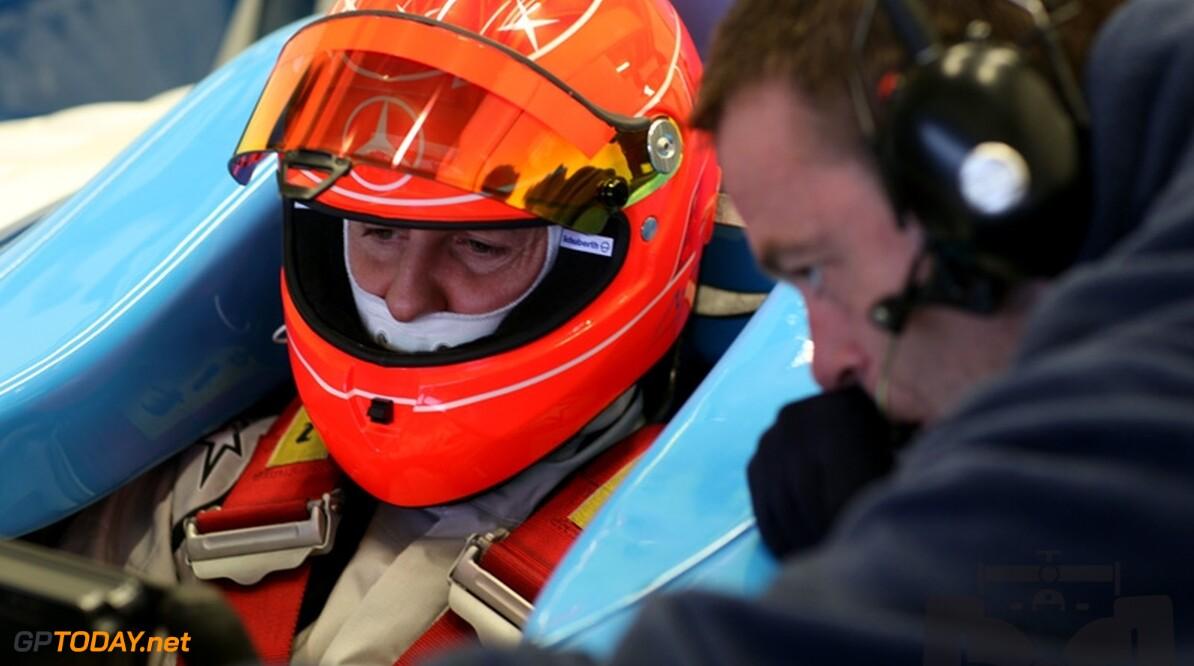 Mercedes GP willigt verzoek Schumacher voor startnummer 3 in