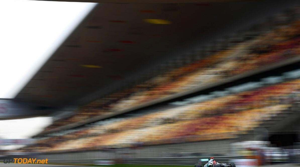 2011 Chinese Grand Prix - Saturday Shanghai International Circuit, Shanghai, China 16th April 2011 Michael Schumacher (GER), Mercedes GP   World Copyright: Andrew Hone / Formula Press / LAT Photographic