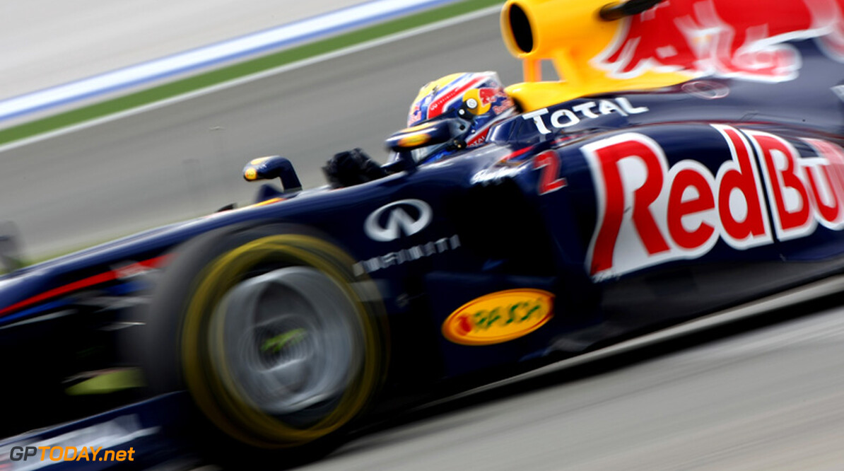 Mark Webber houdt Vettel van pole af in kwalificatie Silverstone