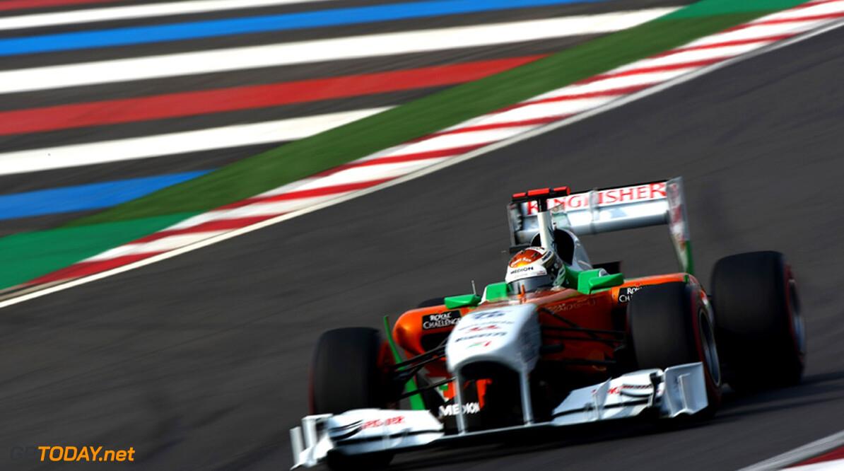'Nico Hülkenberg vervangt Adrian Sutil bij Force India in 2012'