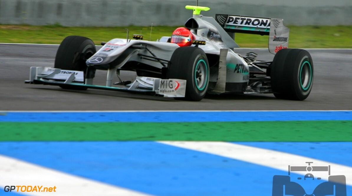 Mercedes GP wacht tot Bahrein met introductie nieuwe diffuser