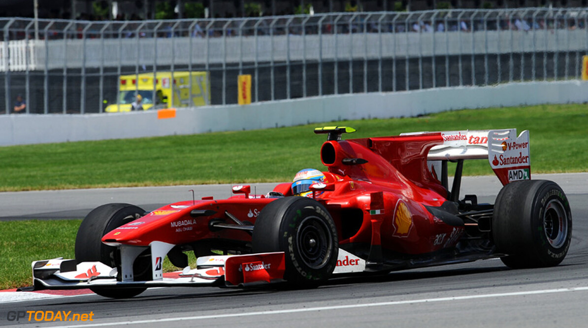 VT2: Alonso weerhoudt Vettel van eerste plek in Duitsland