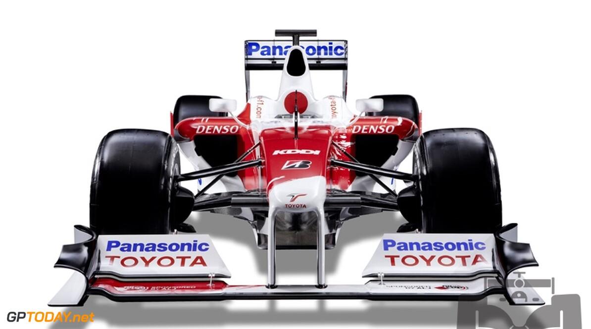 Foto's: Toyota presenteert nieuwe TF109