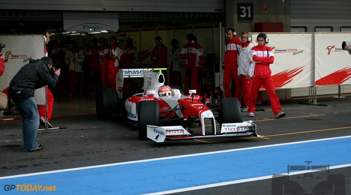 Timo Glock snelste tijdens eerste testdag Bahrein