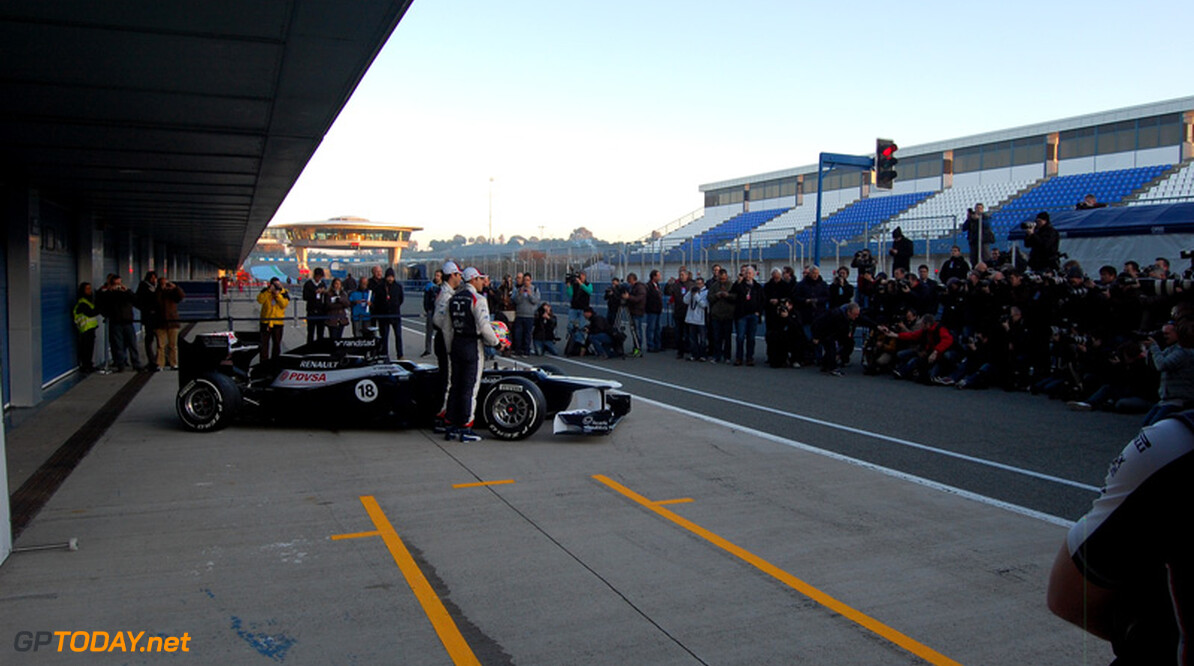 New Williams FW35 not ready for first test at Jerez