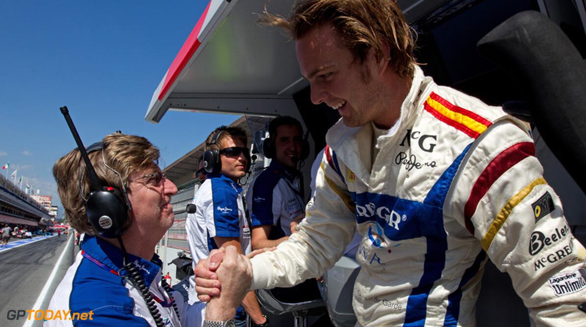 Giedo van der Garde pakt de tweede startplaats bij de GP2 in Barcelona 2011, (C)Frits van Eldik  Frits van Eldik