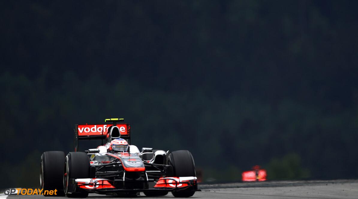 Jenson Button schrijft zichzelf af voor de titel na uitvalbeurt