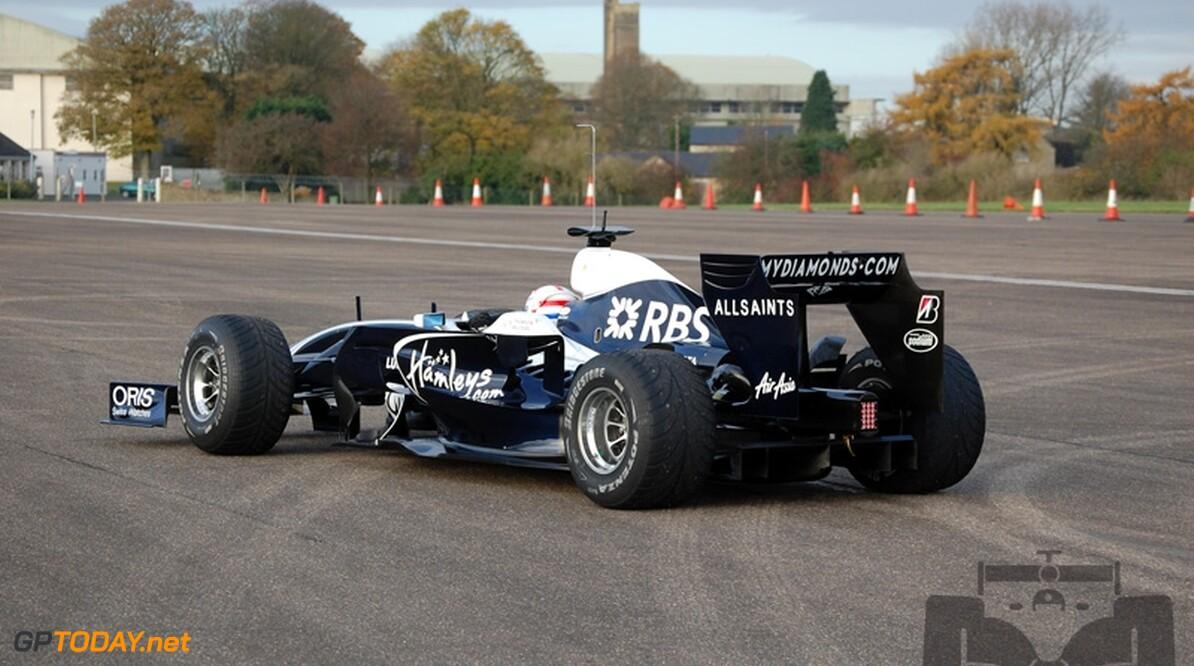 Williams voert eerste shakedown uit met 2009-auto