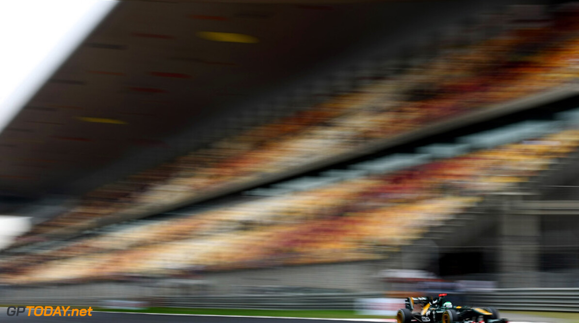 2011 Chinese Grand Prix - Saturday Shanghai International Circuit, Shanghai, China 16th April 2011 Heikki Kovalainen (FIN), Team Lotus World Copyright: Andrew Hone / Formula Press / LAT Photographic