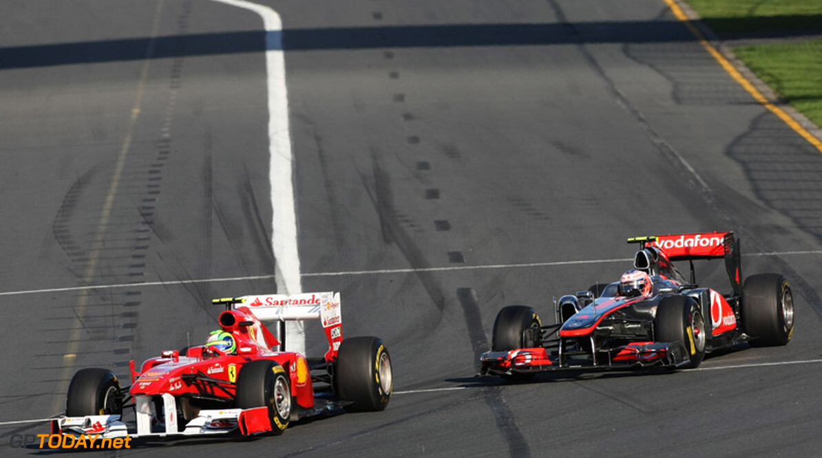 Jenson Button reveals Ferrari regret