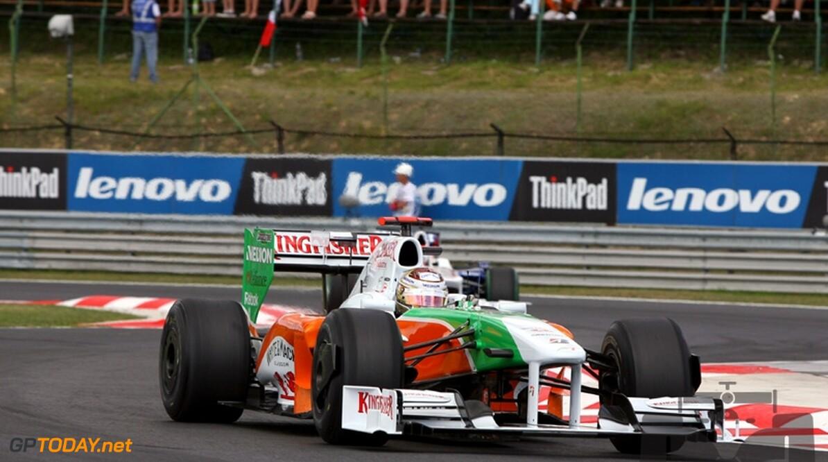 Force India wil geen mogelijkheden meer laten lopen