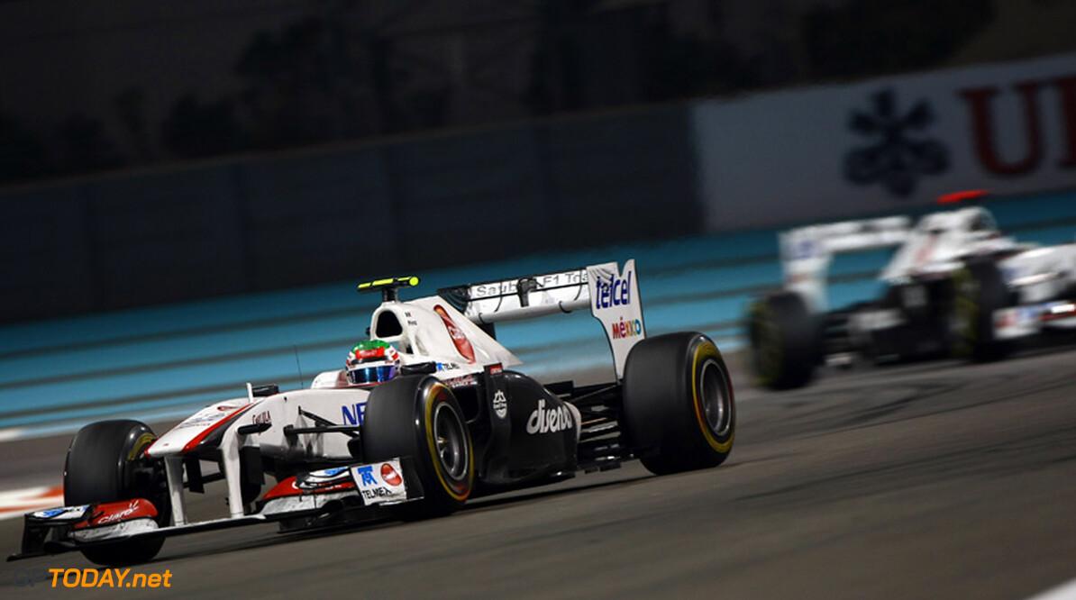 """Sauber put hoop uit snelheid in Abu Dhabi: """"Auto ging erg hard"""""""