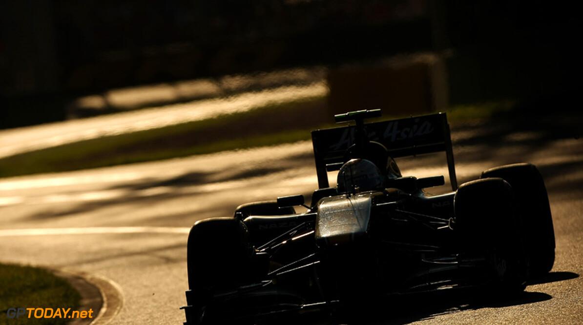 Team Lotus plant introductie van blown diffuser in Spanje